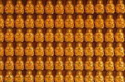 Buddha temple wall in Wat-Leng-Noei-Yi Stock Photography