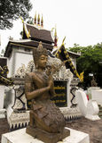 Buddha in temples in Chiangmai Royalty Free Stock Image