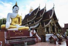 Buddha in temples in Chiangmai Stock Image