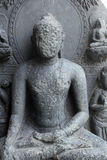Buddha. From 10th century found in Bihar now exposed in the Indian Museum in Kolkata, on Nov 24, 2012 royalty free stock image