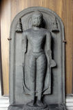 Buddha. From 9th/10th century found in Bihar now exposed in the Indian Museum in Kolkata, on Nov 24, 2012 stock photography