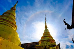Buddha thai pagoda temple Stock Photo