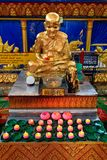 Buddha at the Thai temple Wat Chayamangkalaram Stock Photography