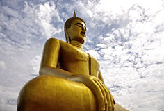 The Buddha in Thailand Royalty Free Stock Photography