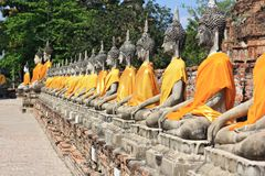 Buddha in thailand Stock Photography