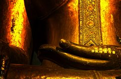 The Buddha of Thailand. Royalty Free Stock Photography