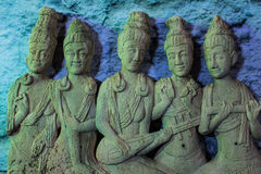 Buddha in Thailand stockfotos