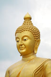 Buddha in Thailand. Big Buddha in Temple of Thailand Royalty Free Stock Image