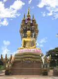 Buddha. At thailand blue sky Royalty Free Stock Photos