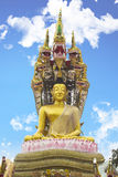 Buddha. At thailand on blue sky Royalty Free Stock Image