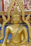 Buddha in Thailand Buddha Temple. Royalty Free Stock Photo
