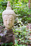 Buddha in thailand stucco nature. Thailand Royalty Free Stock Photos