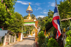 Buddha Thailand temple Wat Prathat Doi Saket Royalty Free Stock Photography