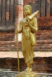 Buddha in Thailand. Buddha was a craft built by Thailand Royalty Free Stock Images