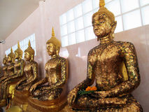 The Buddha in Thailand Stock Images
