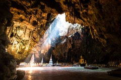 Buddha in Tham Khao Luang Cave Stock Photos