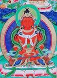 Buddha of thangka Stock Image