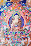 Buddha of thangka Royalty Free Stock Images