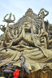 Buddha with thousand hands and thousand eyes in the Suoi Tien park in Saigon Royalty Free Stock Image