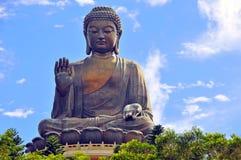 buddha tian tin Arkivfoton