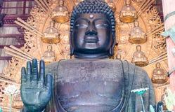 Buddha at Todai-ji Temple in Nara, Japan. Royalty Free Stock Image