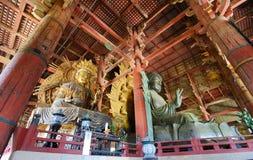 buddha todaiji Fotografia Stock