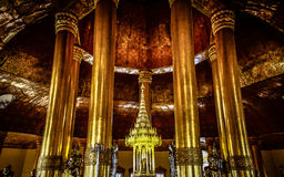 Buddha Tooth Relic. This is Holy object of Buddha Tooth Relic in Swe Taw Myat Pagoda, Yangon, Myanmar stock images