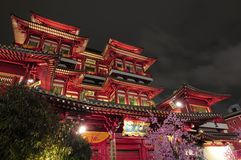 Free Buddha Tooth Relic Temple Royalty Free Stock Image - 19945596