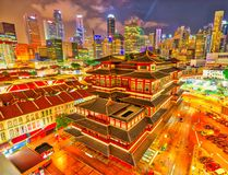 Buddha Tooth Relic Temple royalty free stock image