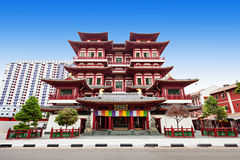 Buddha Tooth Relic Temple Stock Image