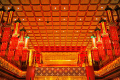 Buddha Tooth Relic Temple. In China Town Singapore Royalty Free Stock Photo