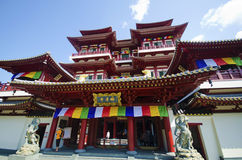 Buddha Tooth Relic Temple in China Town ,  Singapore Royalty Free Stock Photography