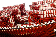 Buddha Tooth Relic Temple in Chinatown Stock Photo