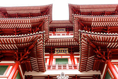 Buddha Tooth Relic Temple in Chinatown Stock Photos