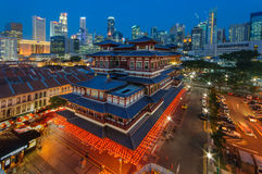 Buddha Tooth Relic Temple and Museum Stock Photography