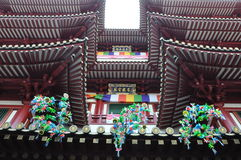 Buddha Tooth Relic Temple and Museum in Singapore Royalty Free Stock Image