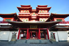 Buddha Tooth Relic Temple in Singapore Stock Image