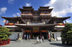 Buddha Tooth Relic Temple, Singapore Royalty Free Stock Images