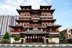 Buddha Tooth Relic Temple Singapore Royalty Free Stock Image