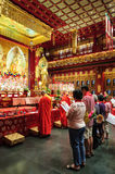 Buddha Tooth Relic temple. Stock Photo