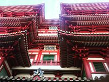 Buddha Tooth Temple Royalty Free Stock Photo