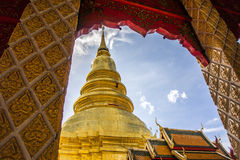 Buddha tower Stock Images