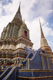 Buddha Tower 1 of Royal Palace in Bankok Royalty Free Stock Images
