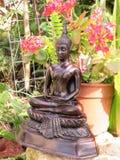 buddha trädgård Royaltyfria Foton
