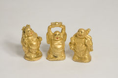 Buddha trio Royalty Free Stock Images