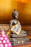 Buddha typ Koncentracyjny złocisty tło Zdjęcia Stock
