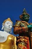 Buddha und Riese Lizenzfreie Stockbilder