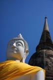 Buddha und Tempel Lizenzfreies Stockbild