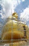Buddha under construction Royalty Free Stock Image