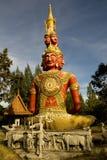 buddha vänder många mot royaltyfria bilder